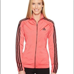 Adidas Designed To Move Coral Black Track Jacket